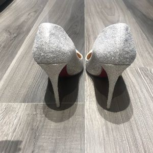 Christian Louboutin Shoes - Louboutins! Gorgeous glitter shoes!